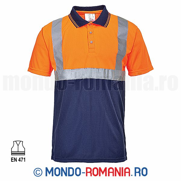 Tricouri reflectorizante - Tricou POLO reflectorizant EXECUTIVE